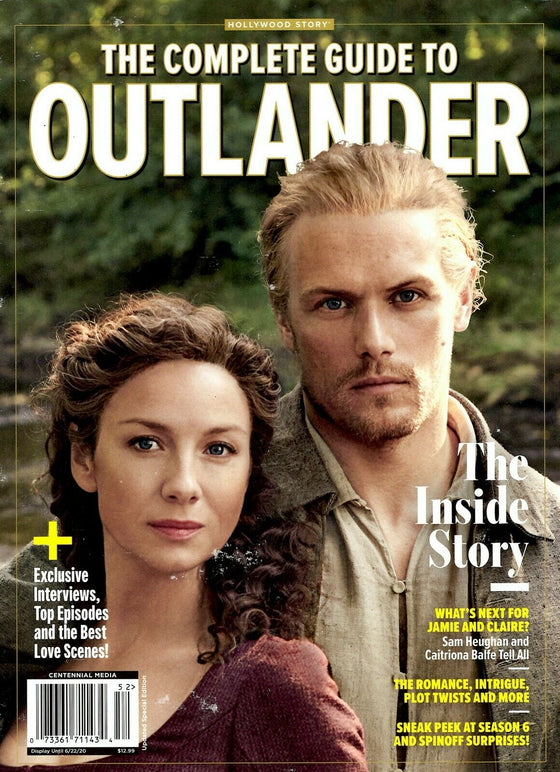 Centennial Media Magazine 2020 The Inside Story Complete Guide to OUTLANDER