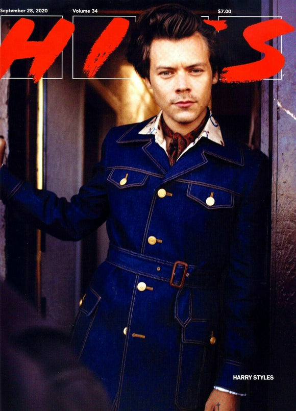 Harry Styles SOLD OUT RARE HITS Mag Inside COVER 9/28/2020 Grammy Issue