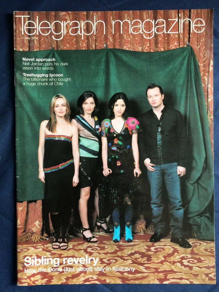 THE CORRS rare UK magazine from 2004 Neil Jordan Peggy Moffitt Amelie Nothomb
