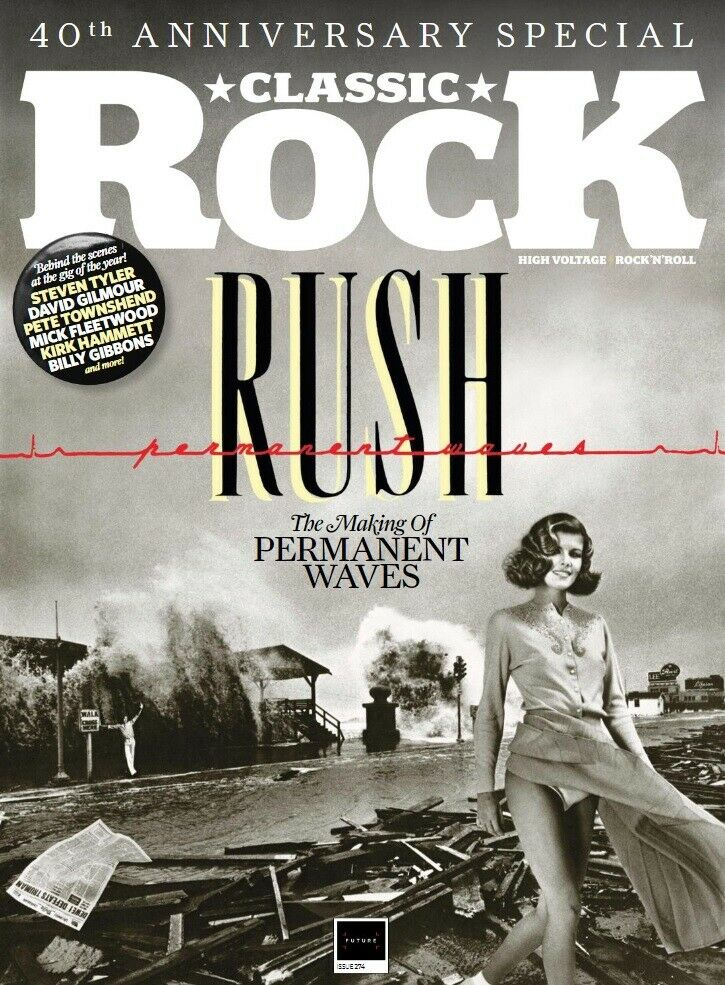 Classic Rock Magazine May 2020: RUSH - THE MAKING OF PERMANENT WAVES + GIFTS