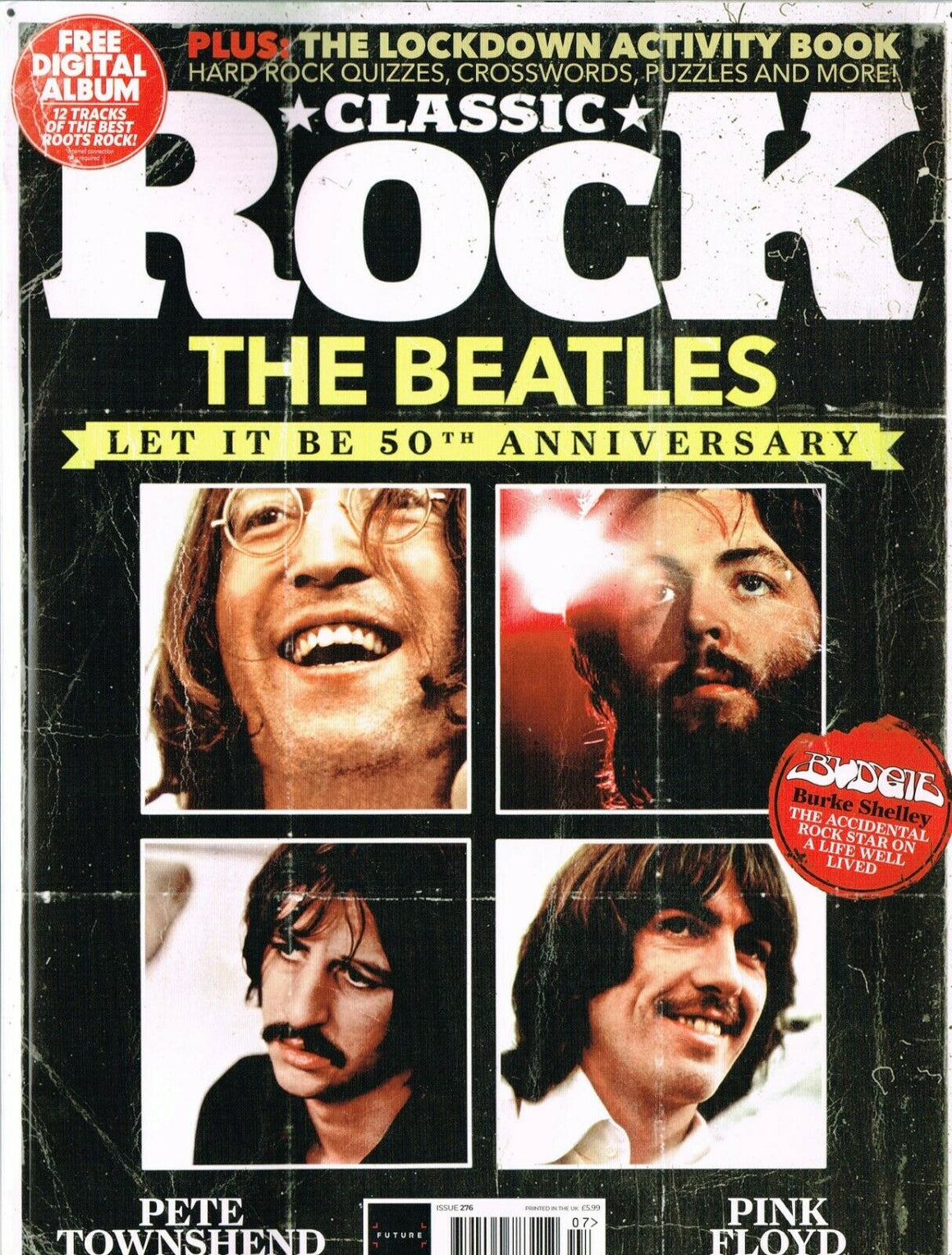 CLASSIC ROCK Magazine #276 THE BEATLES ANNIVERSARY Let It Be