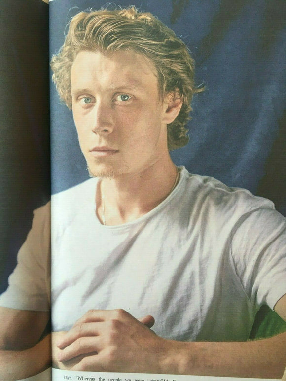 UK Times Review Jan 2020: GEORGE MACKAY 1917 PHOTO COVER INTERVIEW - CLAES BANG