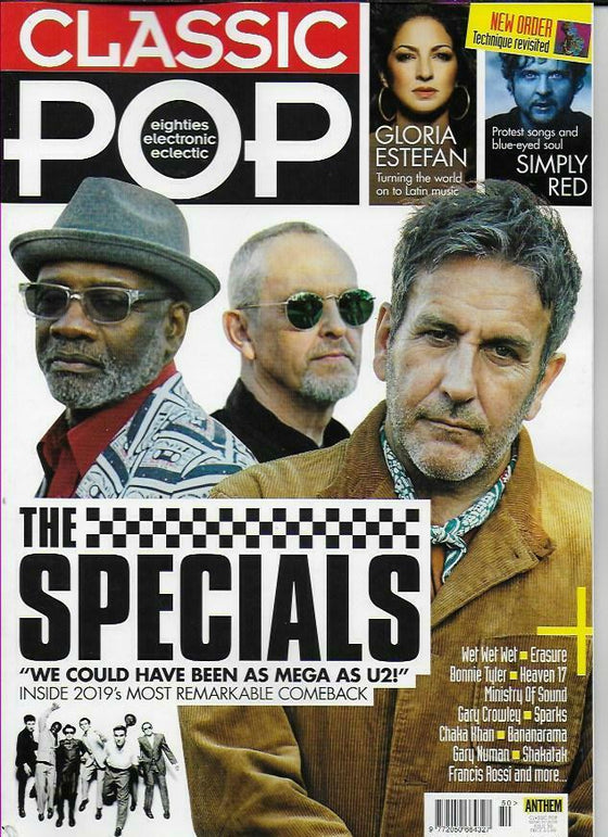 UK Classic Pop Magazine MARCH 2019: THE SPECIALS Simply Red GARY NUMAN Francis Rossi