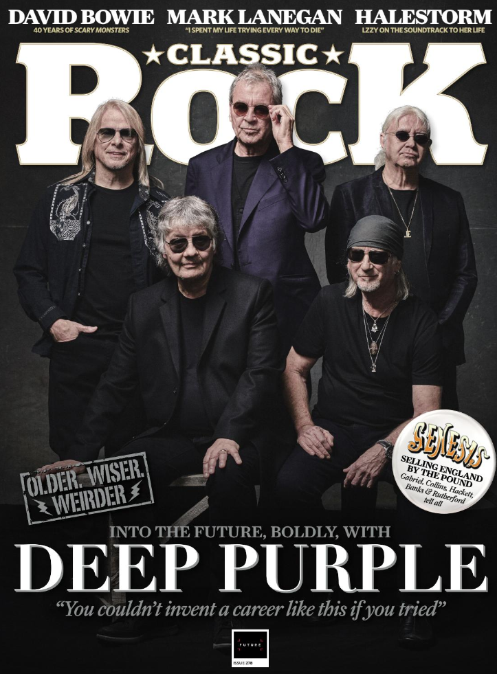 Classic Rock Mag August 2020: DEEP PURPLE + EP David Bowie GENESIS Mark Lanegan