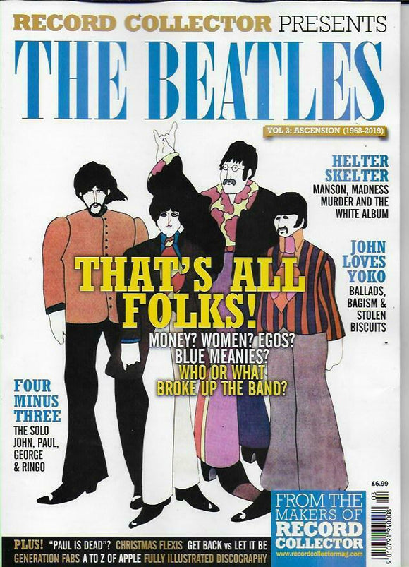 RECORD COLLECTOR PRESENTS-THE BEATLES Vol.3 Ascension (1968-2019)
