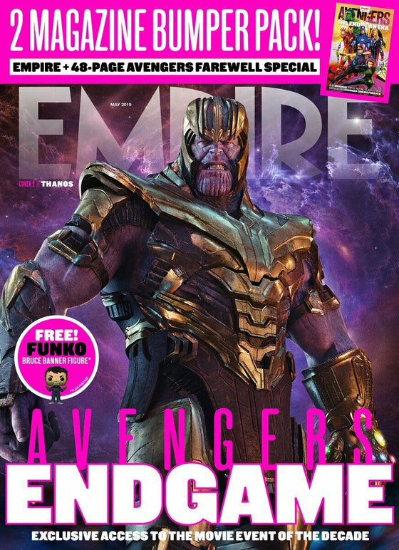 Empire Magazine May 2019: AVENGERS: ENDGAME COVER 2 - THANOS