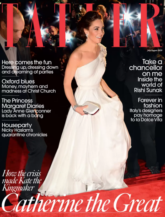 UK Tatler Magazine July 2020: KATE MIDDLETON COVER FEATURE DUCHESS OF CAMBRIDGE