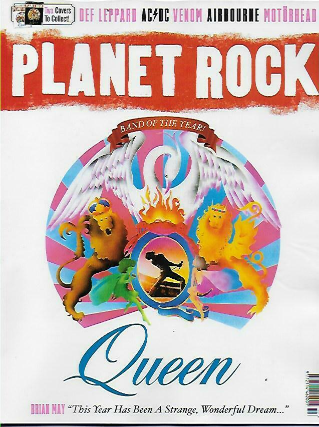 Planet Rock Magazine #17: QUEEN - Special Edition - Adam Lambert Roger Taylor Def Leppard