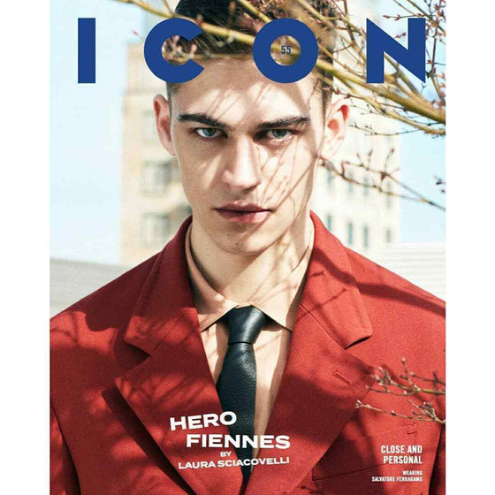 Icon Italia Magazine 2019: Hero Fiennes Tiffin Cover