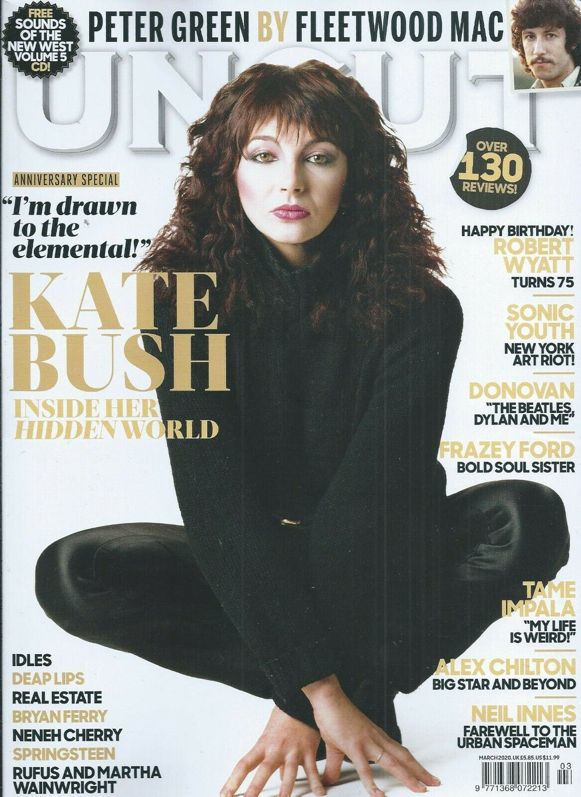 UK Uncut Magazine MARCH 2020: KATE BUSH - Inside Her Hidden World