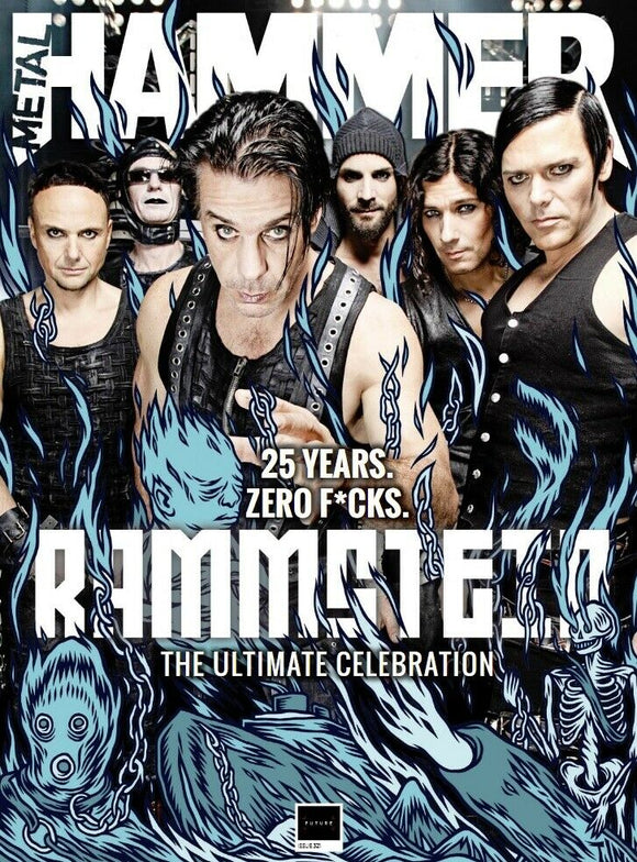 Metal Hammer Magazine May 2019: RAMMSTEIN COVER & FEATURE - ULTIMATE CELEBRATION