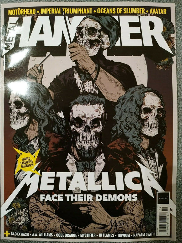 Metal Hammer Magazine September 2020: METALLICA WORLD EXCLUSIVE