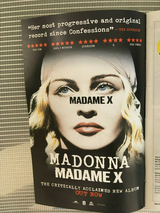 GUIDE magazine 15 June 2019 - LISA KUDROW Richard Madden - Madonna Madame X Ad