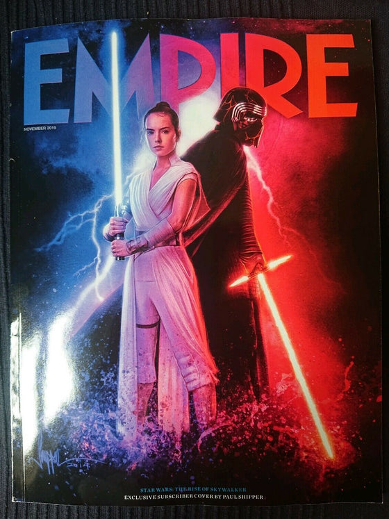Empire Magazine November 2019: STAR WARS: RISE OF SKYWALKER SUBSCRIBER COVER - ADAM DRIVER