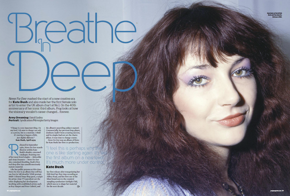 UK PROG Magazine November 2020: KATE BUSH COVER FEATURE