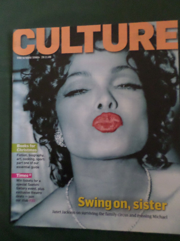UK Sunday Times Culture Magazine November 2009: Janet Jackson World Exclusive