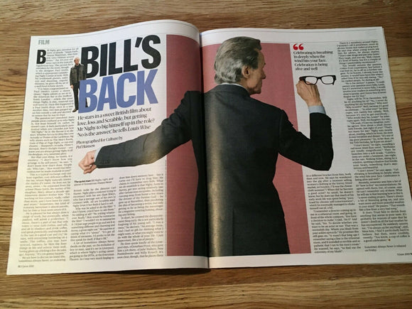 UK CULTURE Magazine June 2019: BILL NIGHY Bob Dylan MARGOT FONTEYN Emma Thompson