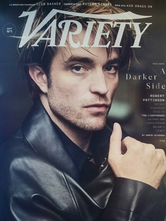 ROBERT PATTINSON VARIETY MAGAZINE SEPTEMBER 3, 2019 NO MAILING LABELS