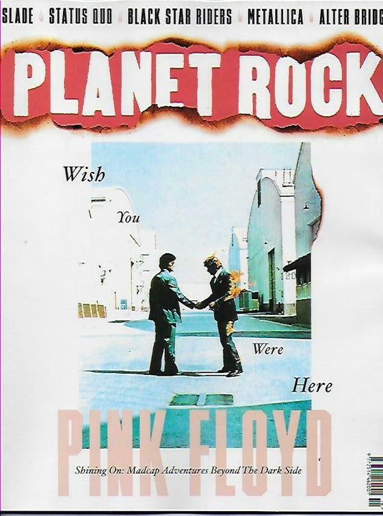 PLANET ROCK MAGAZINE - No.16: PINK FLOYD Noddy Holder SLADE Tool THIN LIZZY