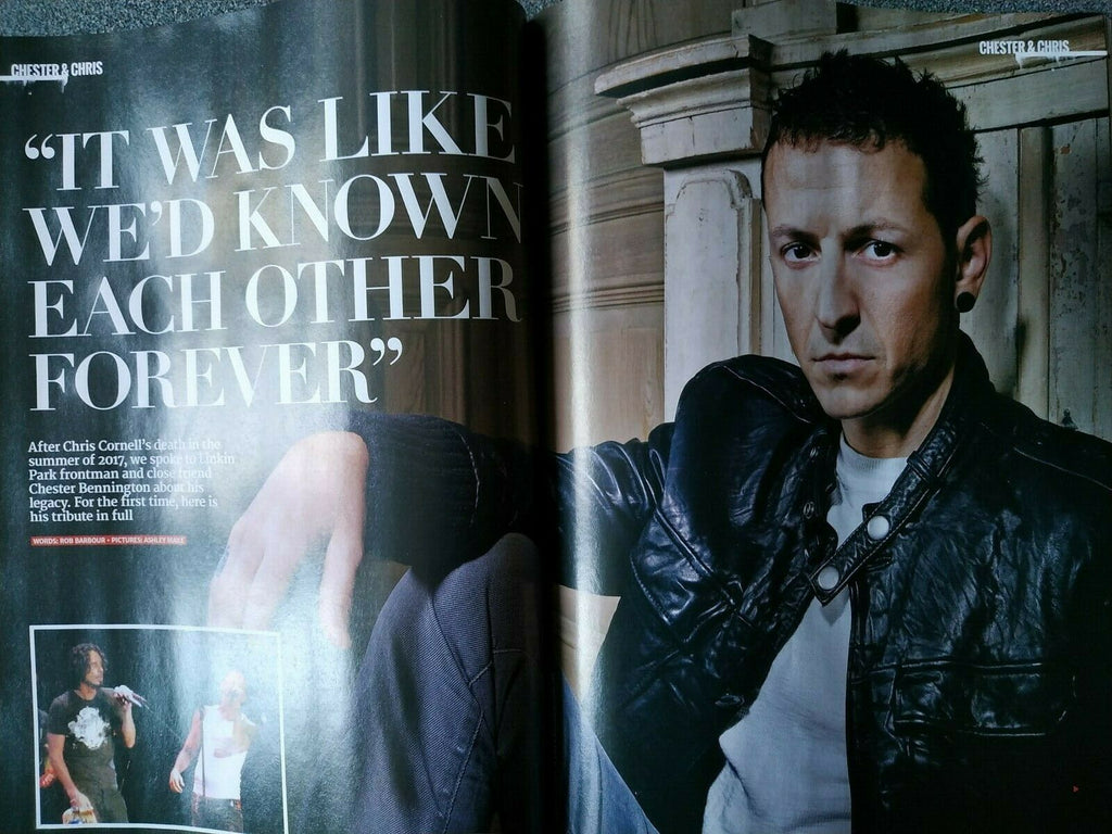 Metal Hammer Magazine April 2020: Chester Bennington on Chris Cornell (Soundgarden)