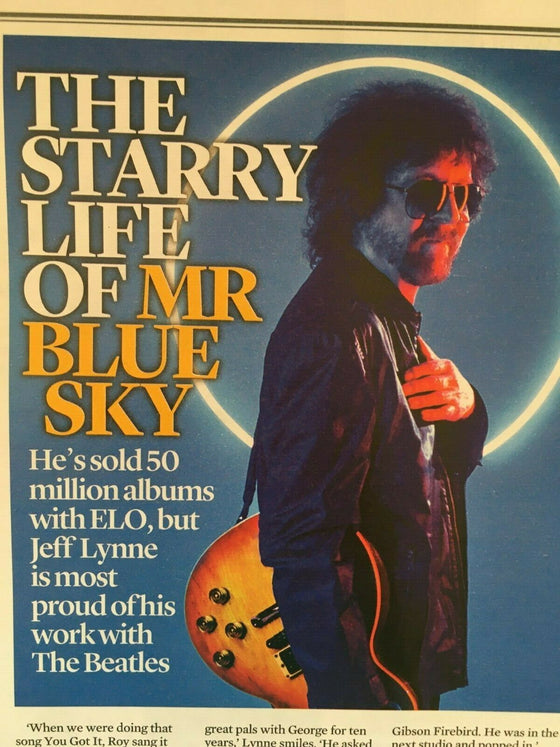 UK Event Magazine October 2019: JEFF LYNNE Matt Smith CHER
