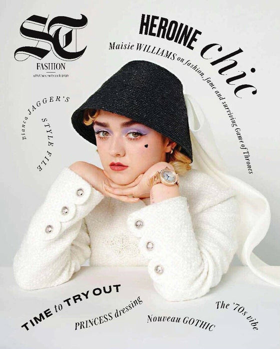 UK ST Fashion Magazine September 2020: MAISIE WILLIAMS Anne-Marie ELLA HENDERSON