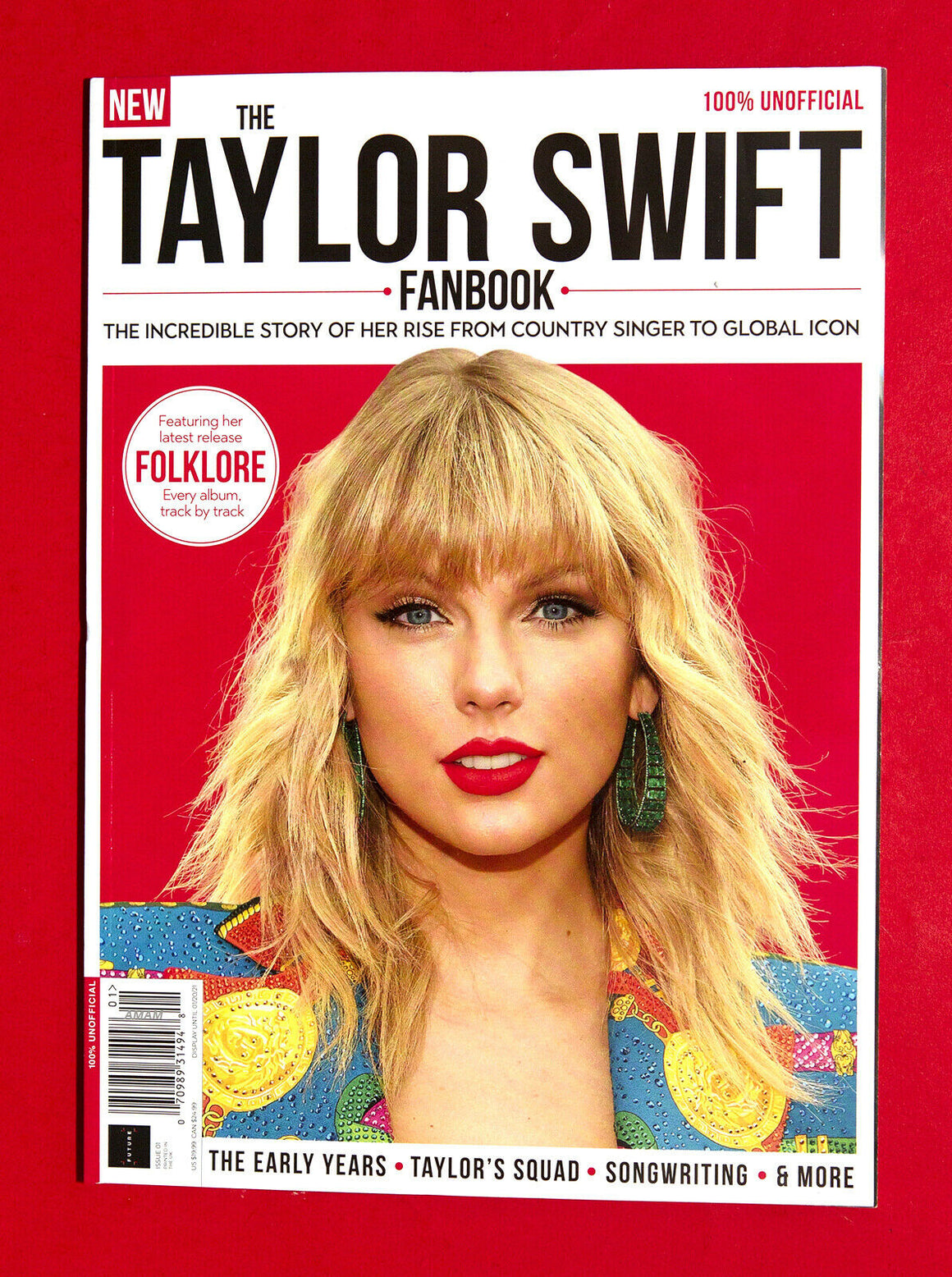 TAYLOR SWIFT FOLKLORE UK UNOFFICIAL COLLECTORS FANBOOK MAGAZINE WINTER 2020