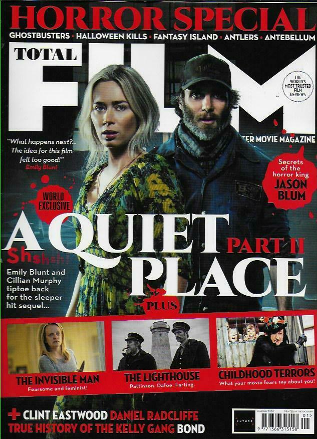 TOTAL FILM Magazine Jan 2020: CILLIAN MURPHY EMILY BLUNT A QUIET PLACE EXCLUSIVE