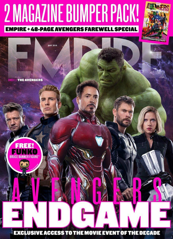 Empire Magazine May 2019: AVENGERS: ENDGAME COVER 1 - THE ORIGINAL AVENGERS