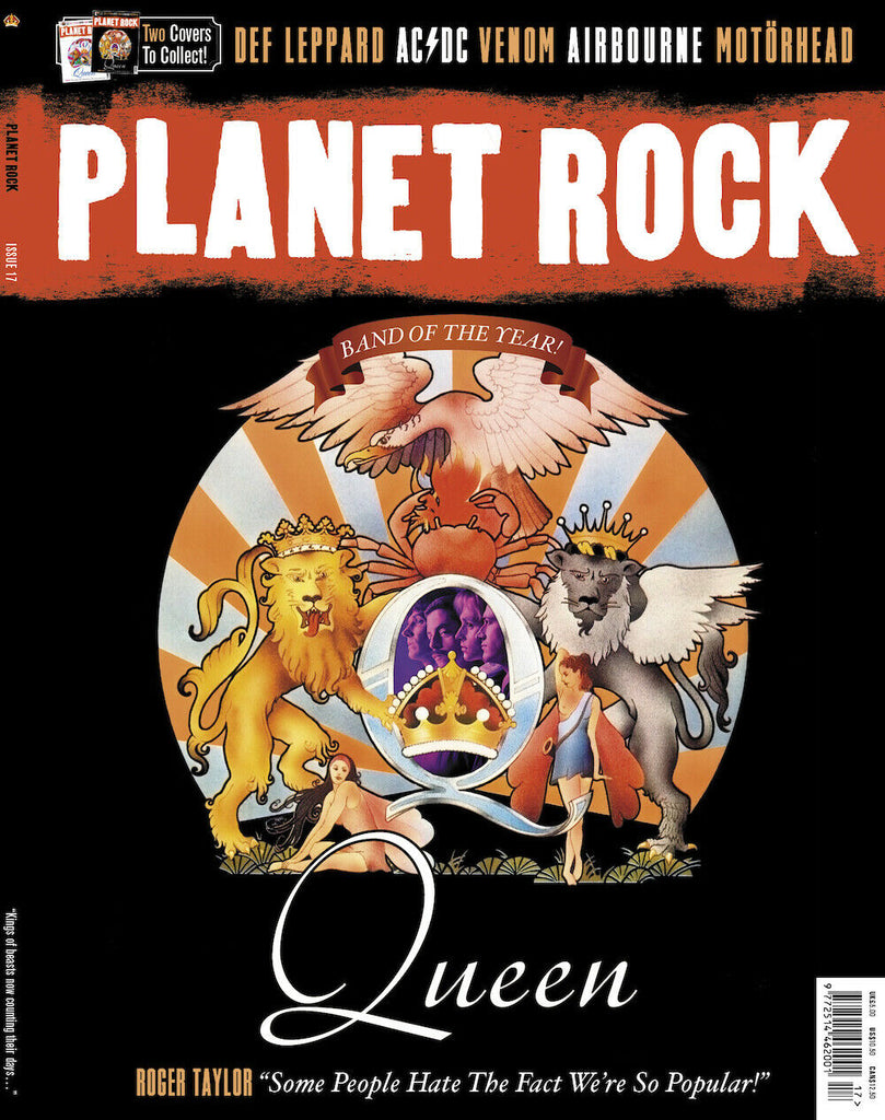 Planet Rock Magazine #17: QUEEN - Special Edition - Cover #2