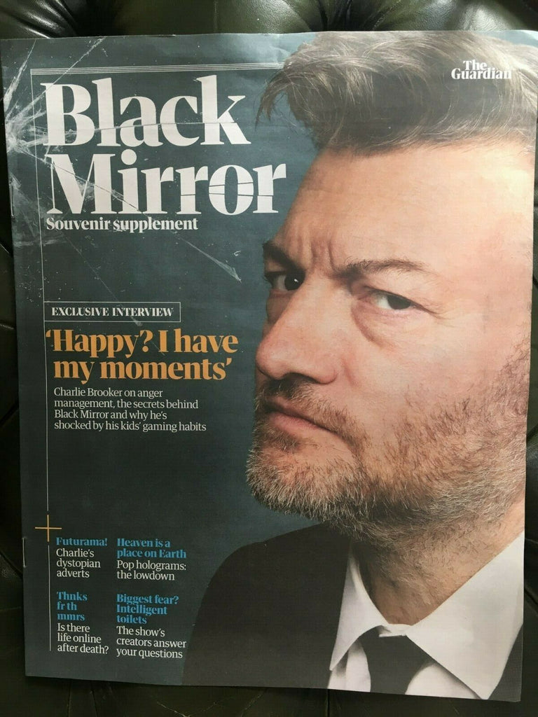 Black Mirror Souvenir Supplement 2019 Charlie Brooker Miley Cyrus Andrew Scott