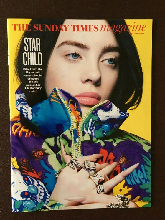 UK Sunday Times Magazine June 2019: Billie Eilish World Exclusive