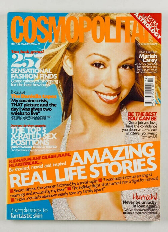 MARIAH CAREY UK British Cosmopolitan magazine September 2001