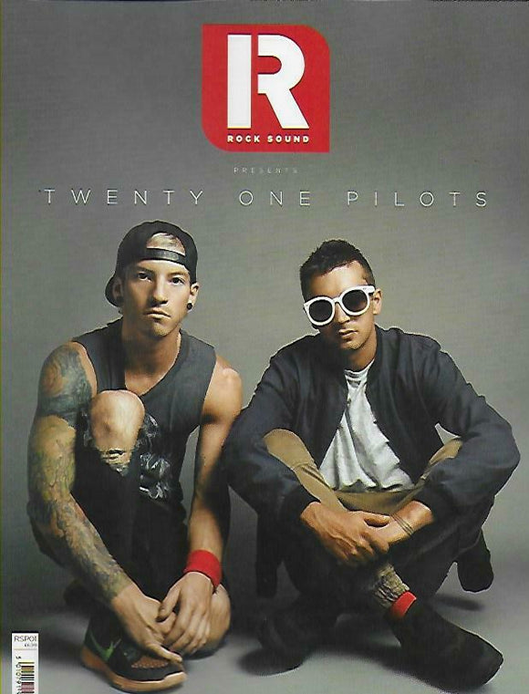 ROCK SOUND magazine Presents - Twenty One Pilots Special Issue - 92 Pages