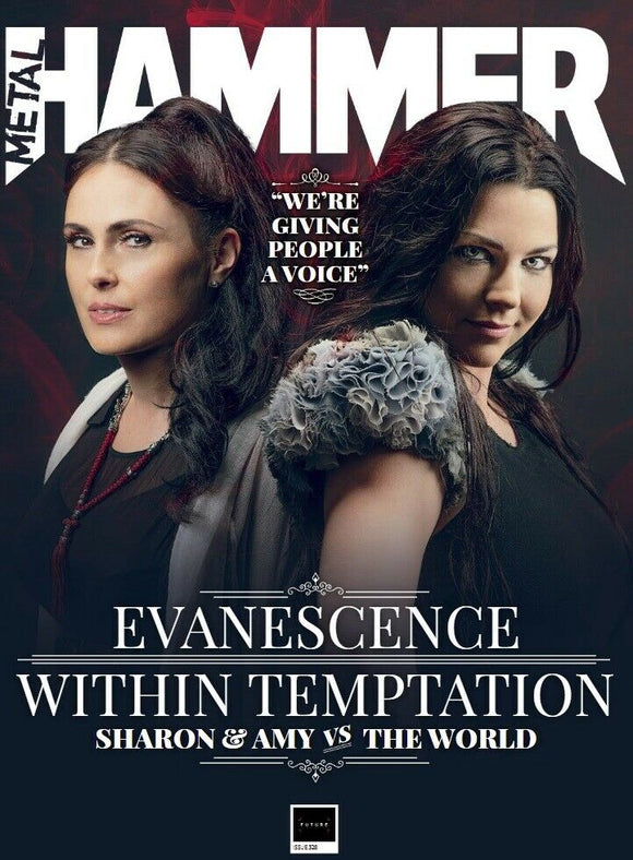UK Metal Hammer November 2019: EVANESCENCE & WITHIN TEMPTATION & FREE GIFTS