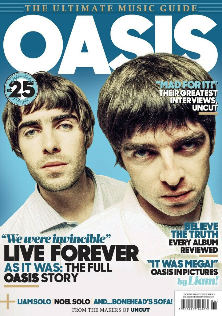 ULTIMATE MUSIC GUIDE magazine June 2019 - Oasis Deluxe updated edition (Liam Gallagher)