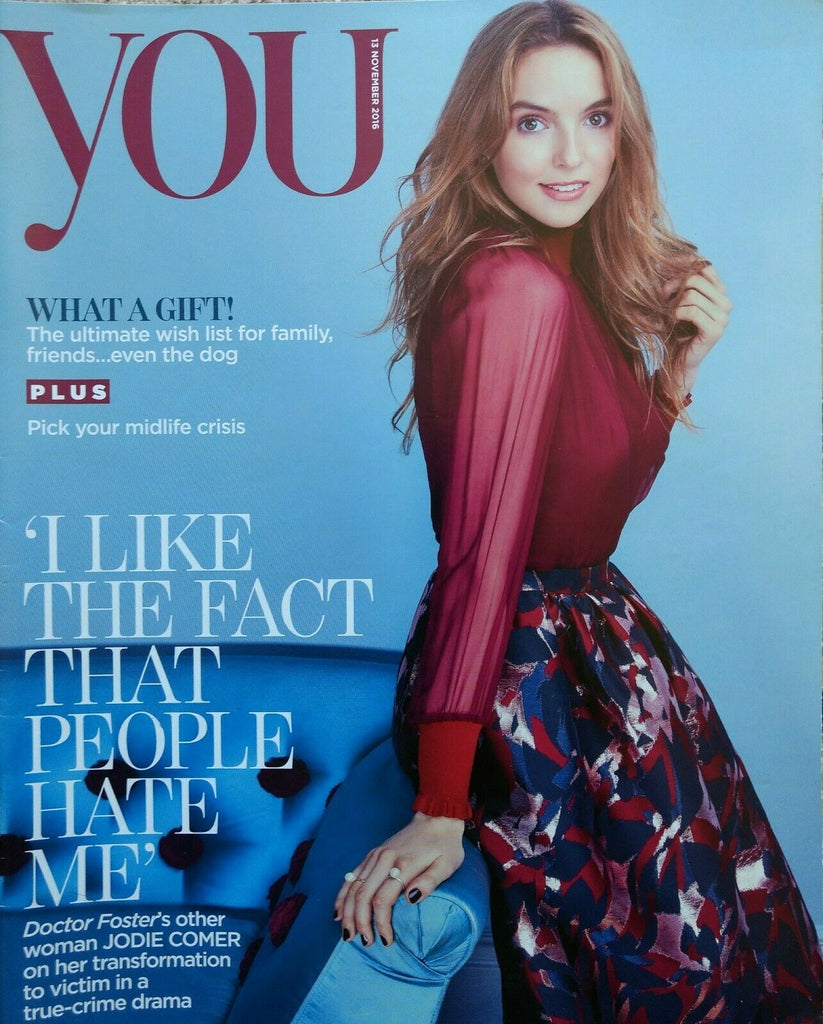 YOU magazine ~ 13 November 2016 ~ Jodie Comer
