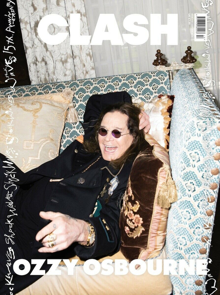 UK Clash Magazine Issue 113 OZZY OSBOURNE UK Cover Interview Adam Lambert