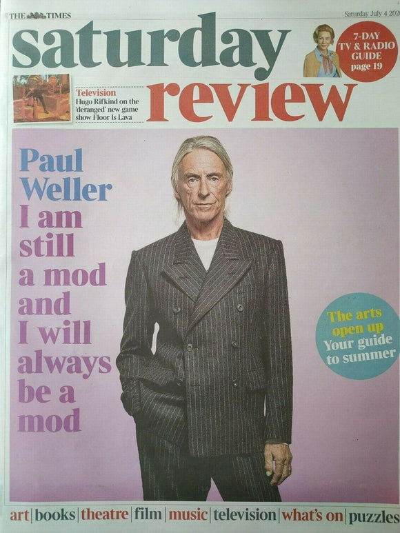 UK Times Review July 2020: PAUL WELLER COVER FEATURE