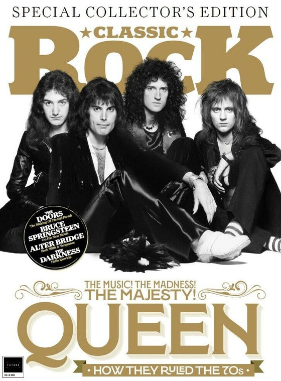 Classic Rock Magazine November 2019: QUEEN Freddie Mercury & Free Gifts (No CD)