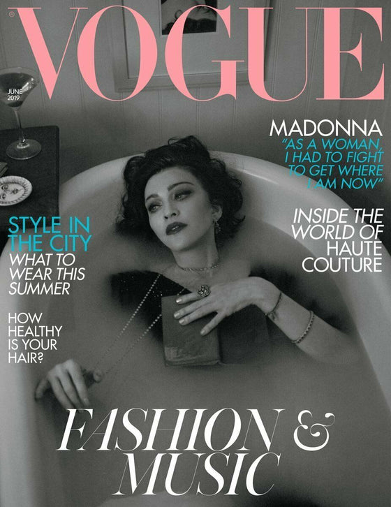 British Vogue Magazine June 2019: MADONNA COVER & FEATURE