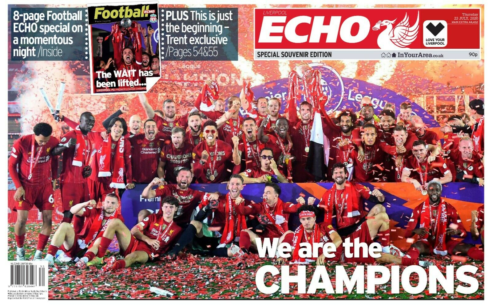 Liverpool Fc Liverpool Echo Trophy Presentation Special 23rd July Yourcelebritymagazines