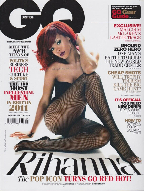 Rihanna - Werner Schreyer - GQ Magazine UK January 2011