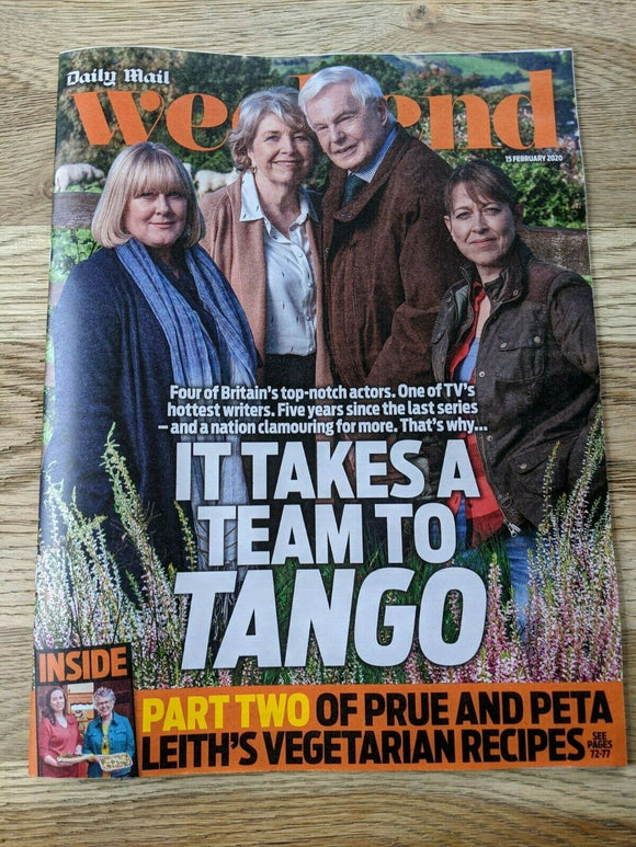 UK WEEKEND Mag Feb 2020: SARAH LANCASHIRE Derek Jacobi ANNE REID Nicola Walker