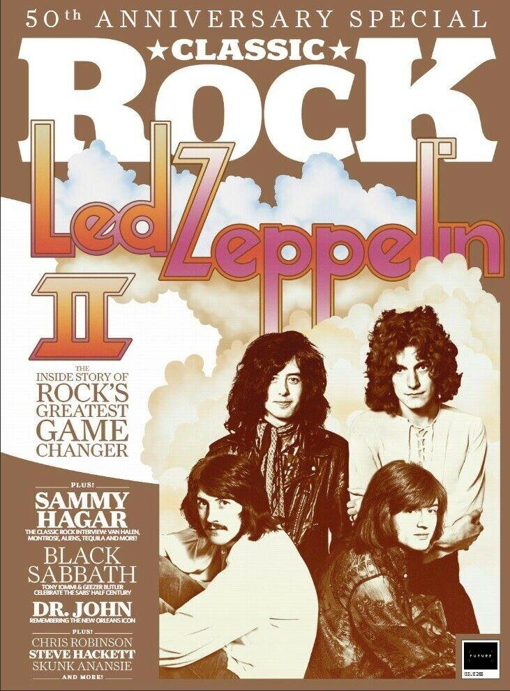 Classic Rock Magazine August 2019: LED ZEPPELIN 50th Anniversary Special + Free Poster + Booklet