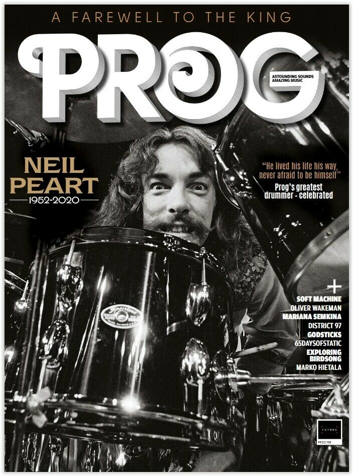 UK PROG Magazine February 2020: NEIL PEART TRIBUTE ISSUE Rush