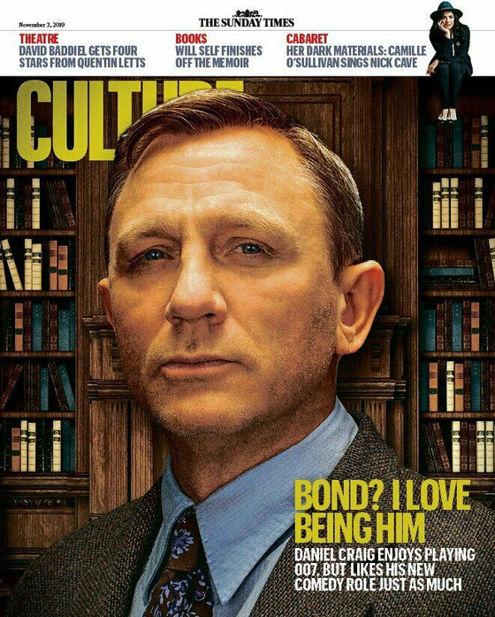 CULTURE magazine November 3 2019 DANIEL CRAIG COVER AND FEATURE James Bond