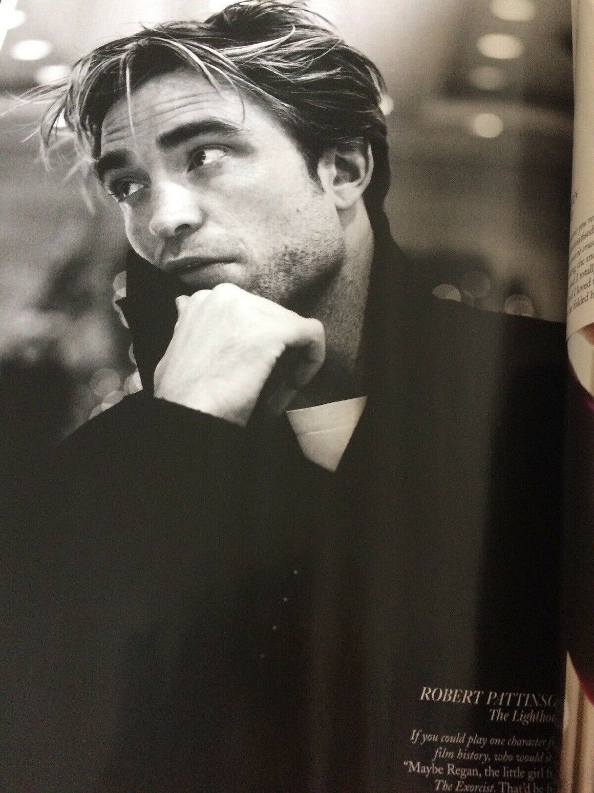 British Vogue Magazine February 2020: Robert Pattinson