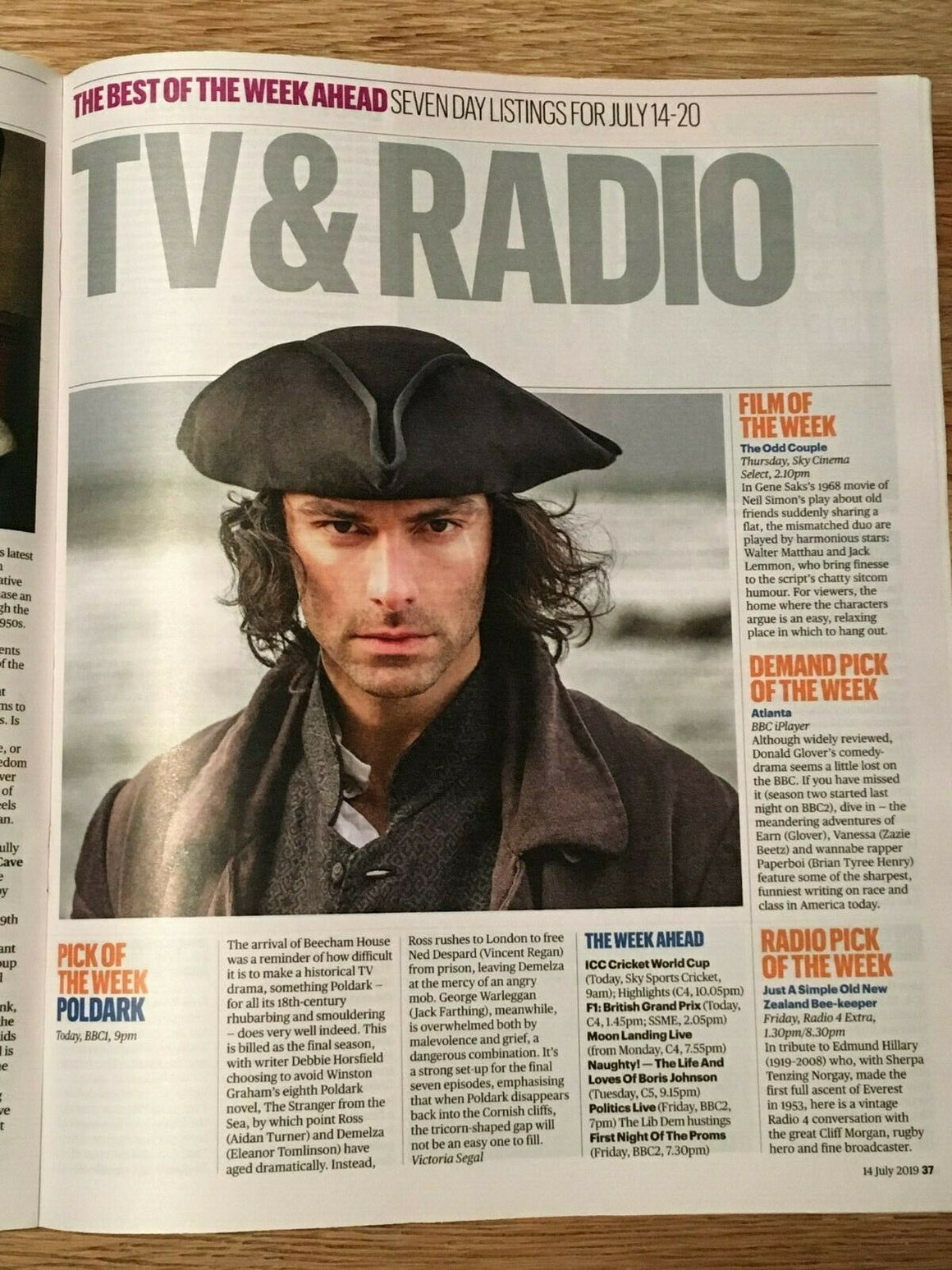 UK CULTURE MAGAZINE July 2019: MABEL Adam Driver AIDAN TURNER James McArdle
