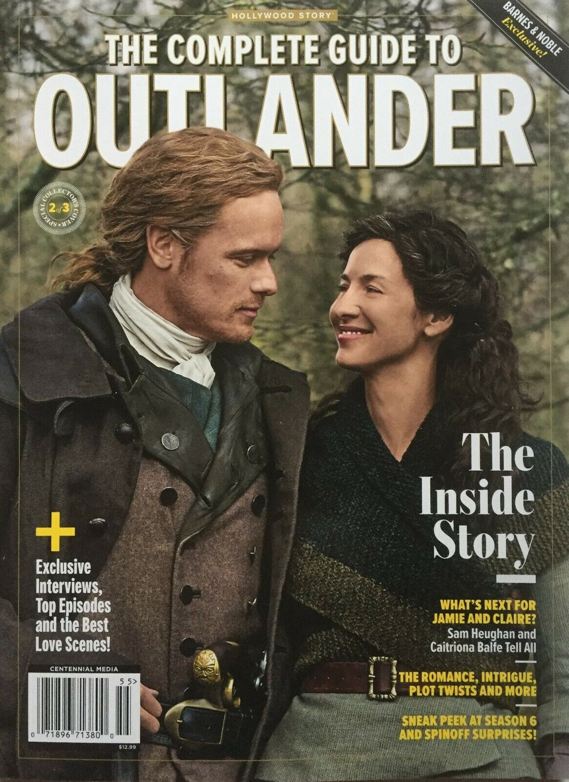 OUTLANDER 2020 COMPLETE GUIDE Caitriona Balfe & Sam Heughan Cover 2 of 3